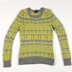 THEORY Long Sleeve 100% Wool Sweater